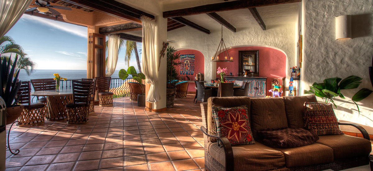 villa azul celeste sofa 2