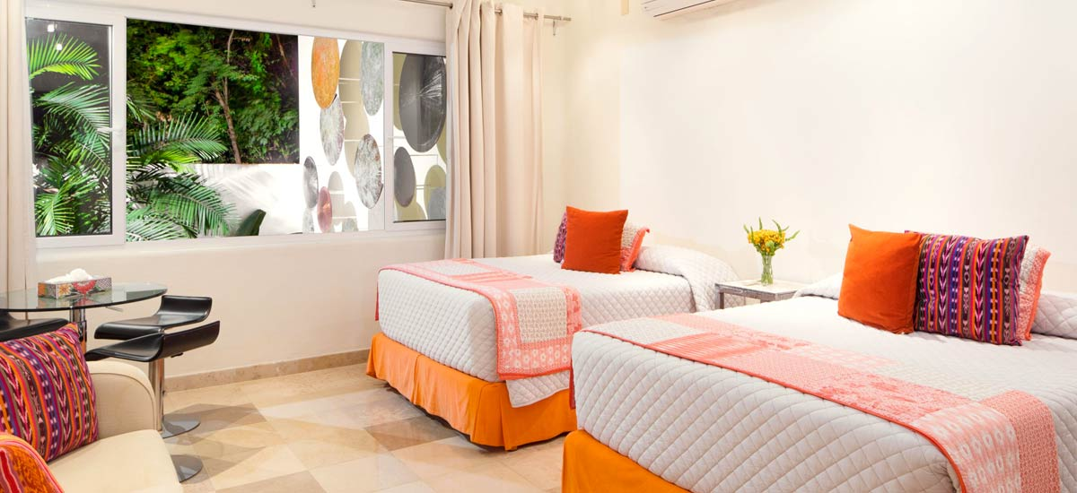 villa balboa double bedroom