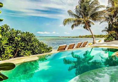 villa casa del agua riviera maya