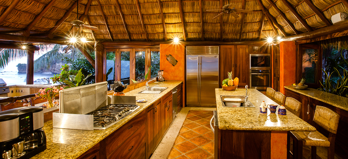 villa cascadas kitchen 2