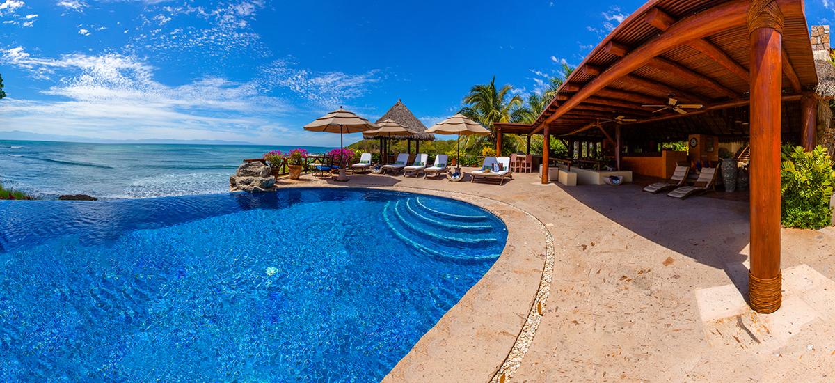 villa cascadas pool 2