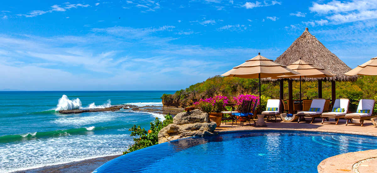 villa cascadas pool 3