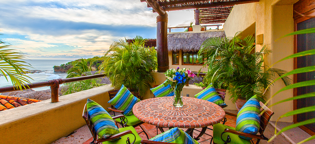 villa cascadas terrace 2