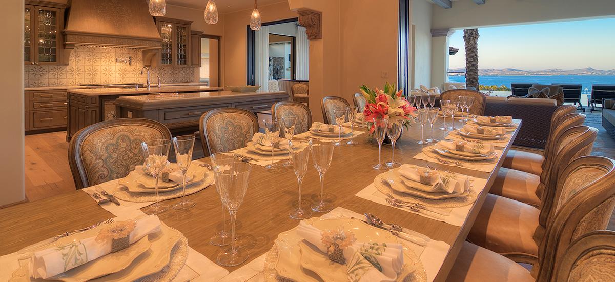 villa casa chanel dinner