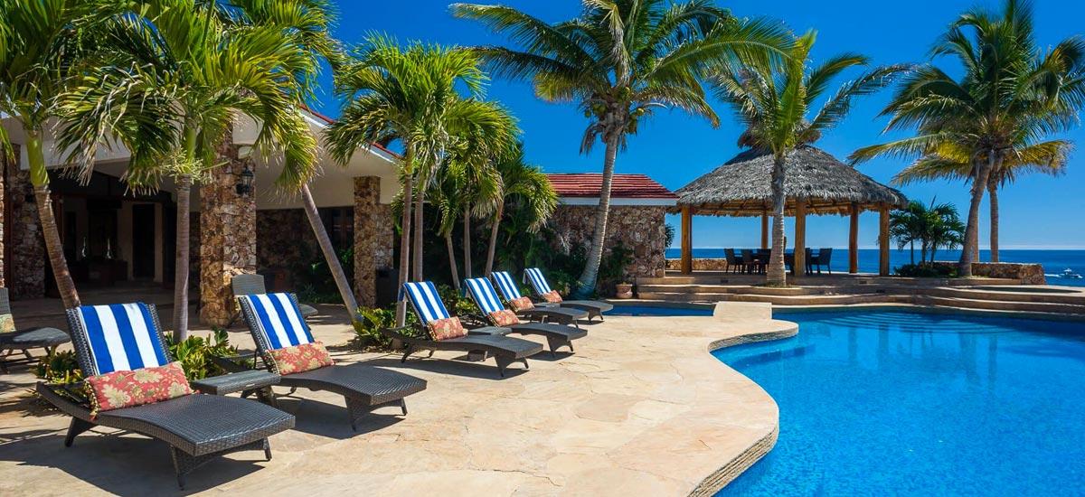 villa cielito ocean pool