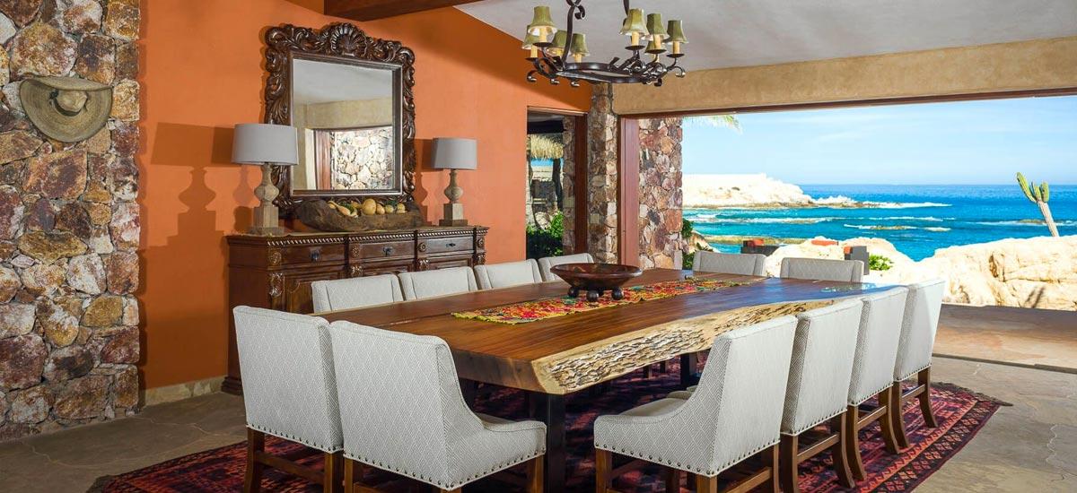 villa cielito dining room