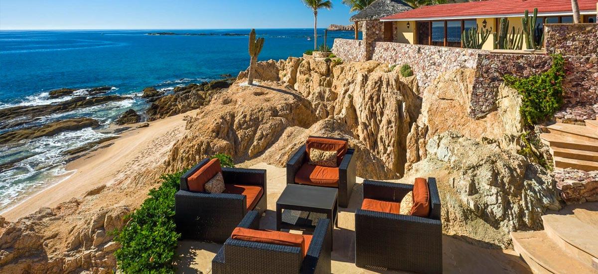 villa cielito terrace view