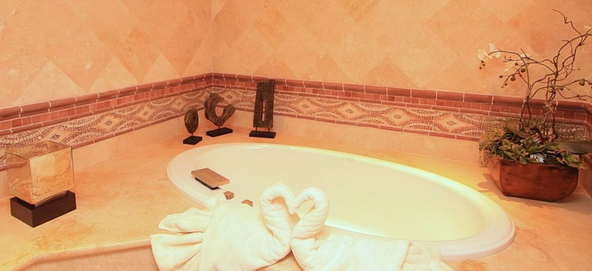 villa cielo bath