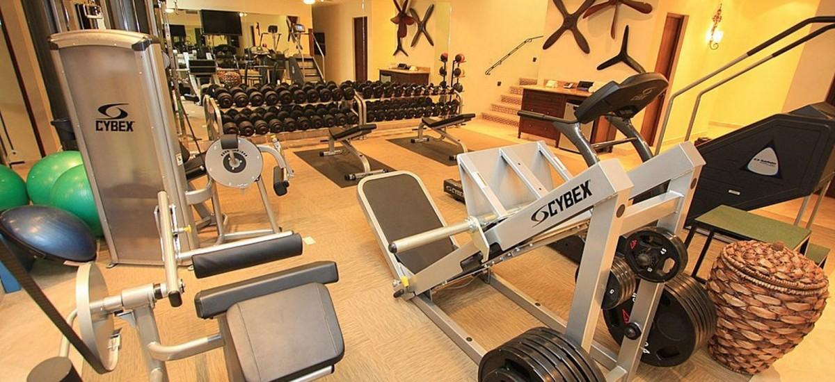 villa cielo gym