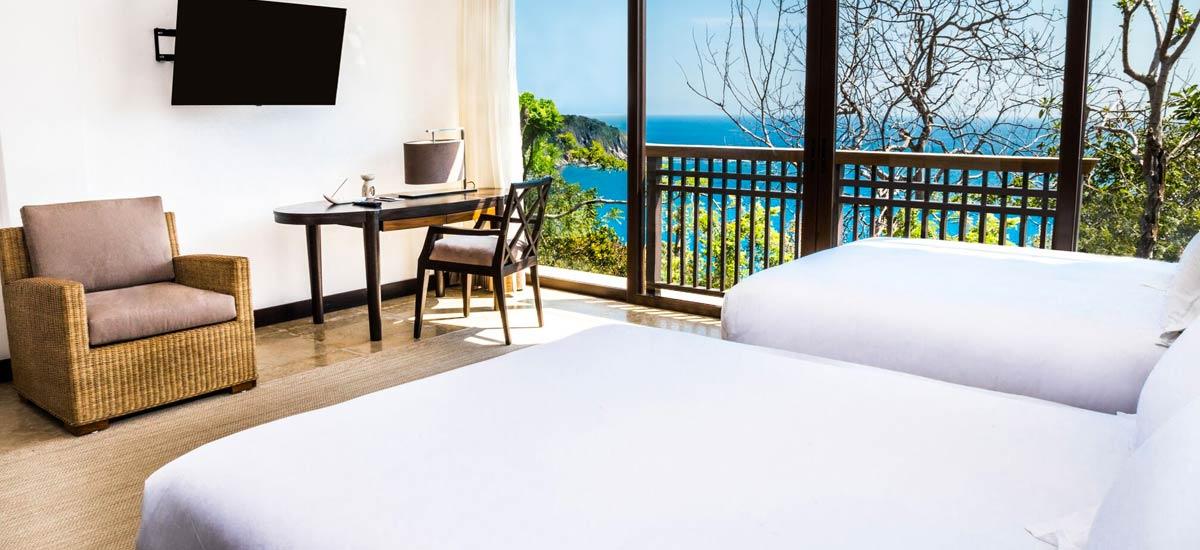 villa ciruelo double bedroom 2