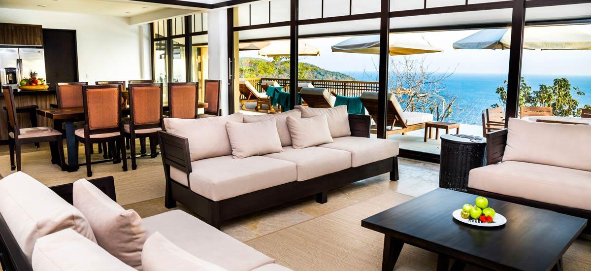 villa ciruelo indoor area