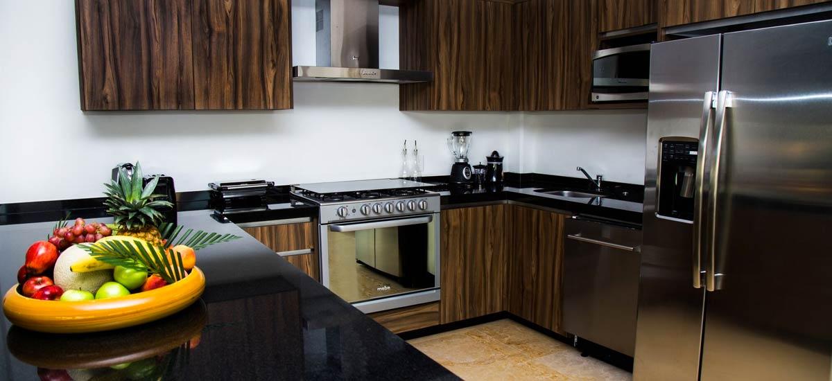 villa ciruelo kitchen