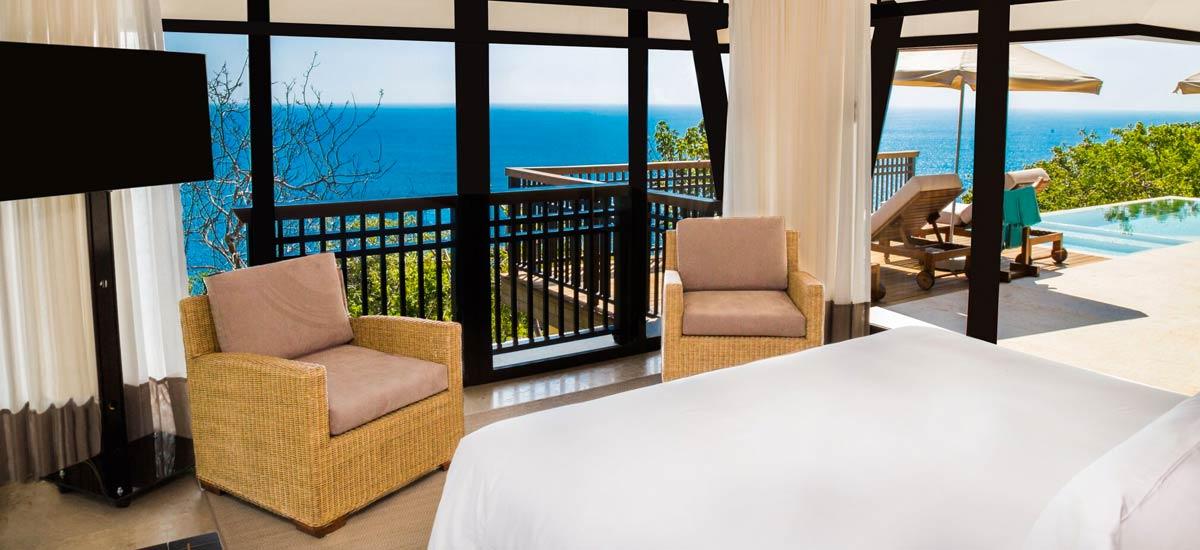 villa ciruelo master bedroom