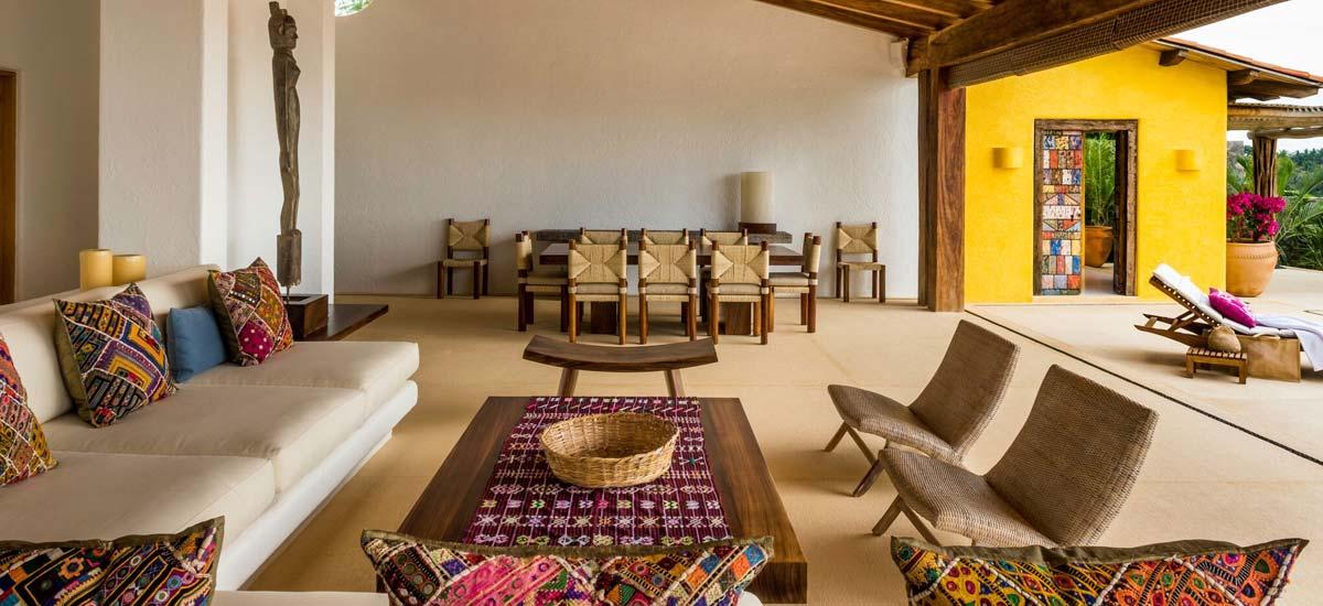 villa constellation aries living room