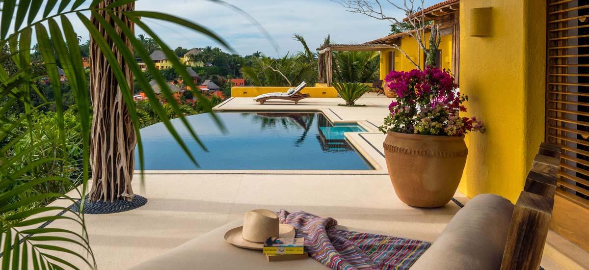 villa constellation aries pool 3