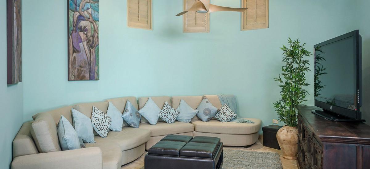 villa de los faros living room 2