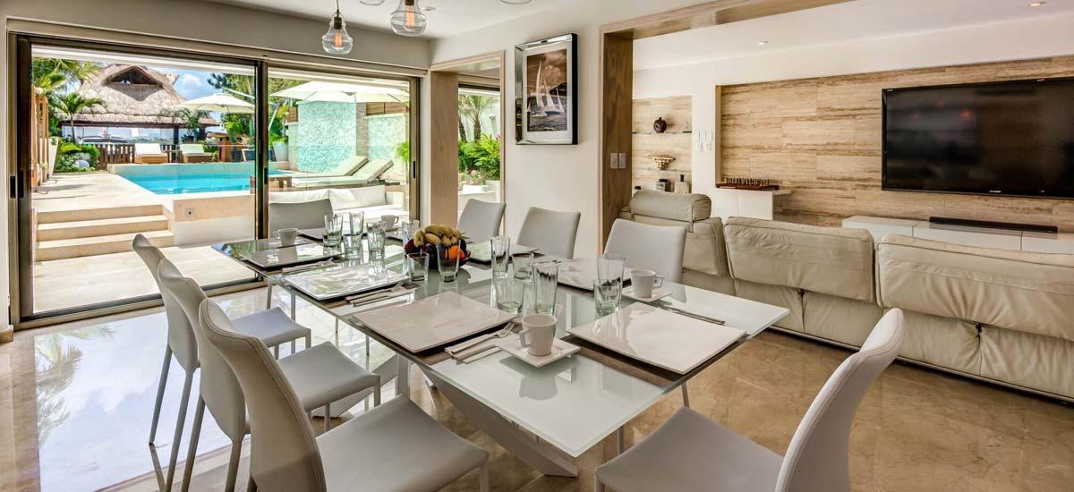 villa el patron dining room