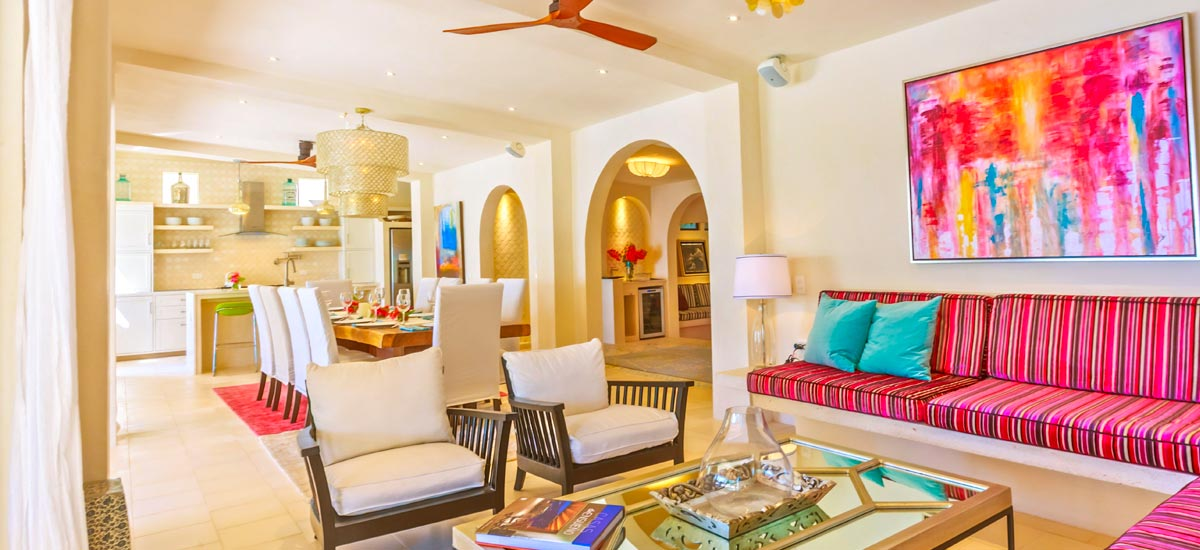 villa encantada living room 3