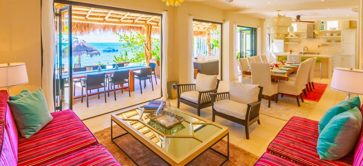 villa encantada living room 4