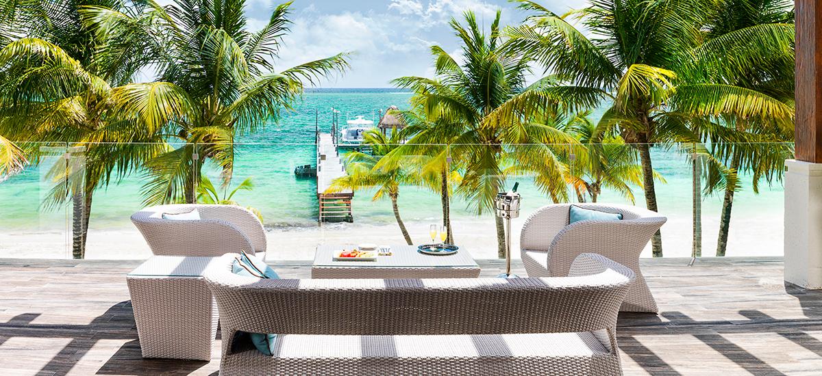 villa esmeralda bedroom view