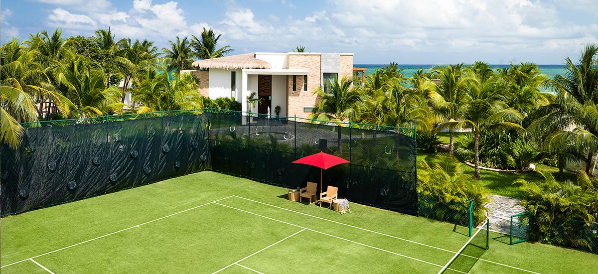 villa esmeralda tennis