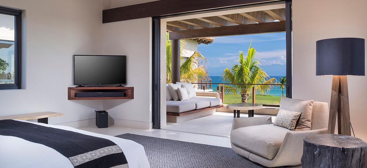villa estrella bedroom