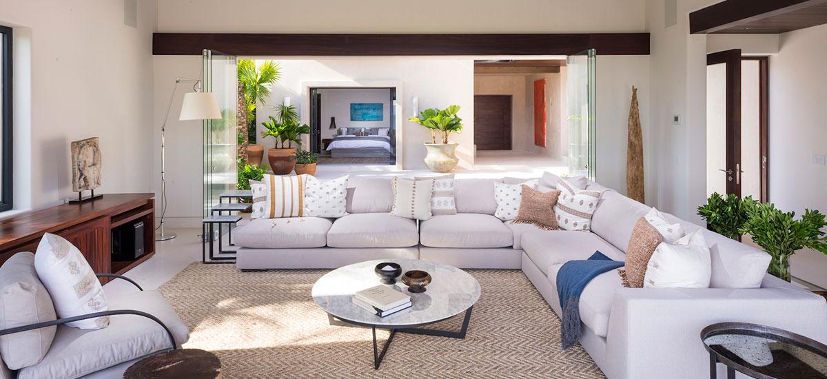 villa estrella living room