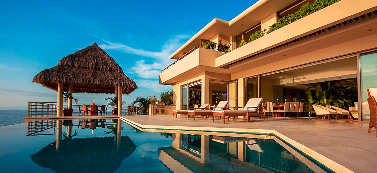 villa kismet pool