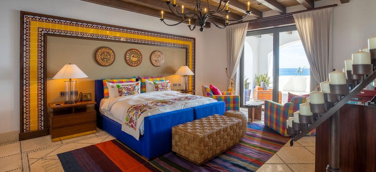 villa la datcha master bedroom