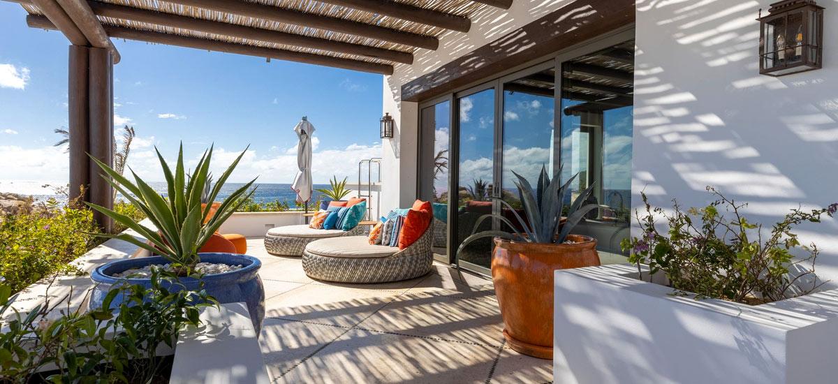 villa la datcha terrace