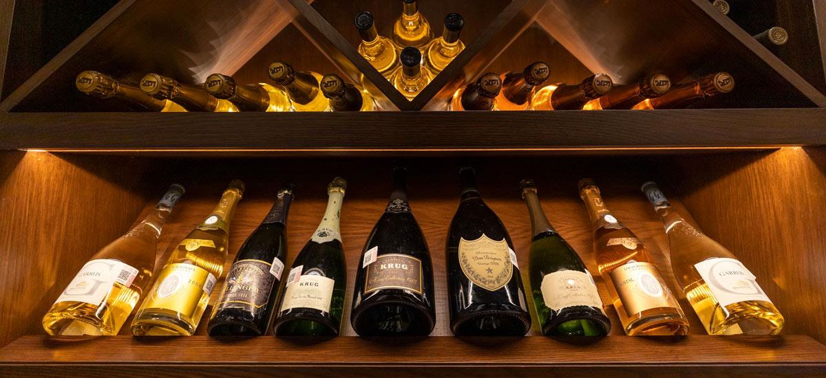 villa la datcha wine cellar
