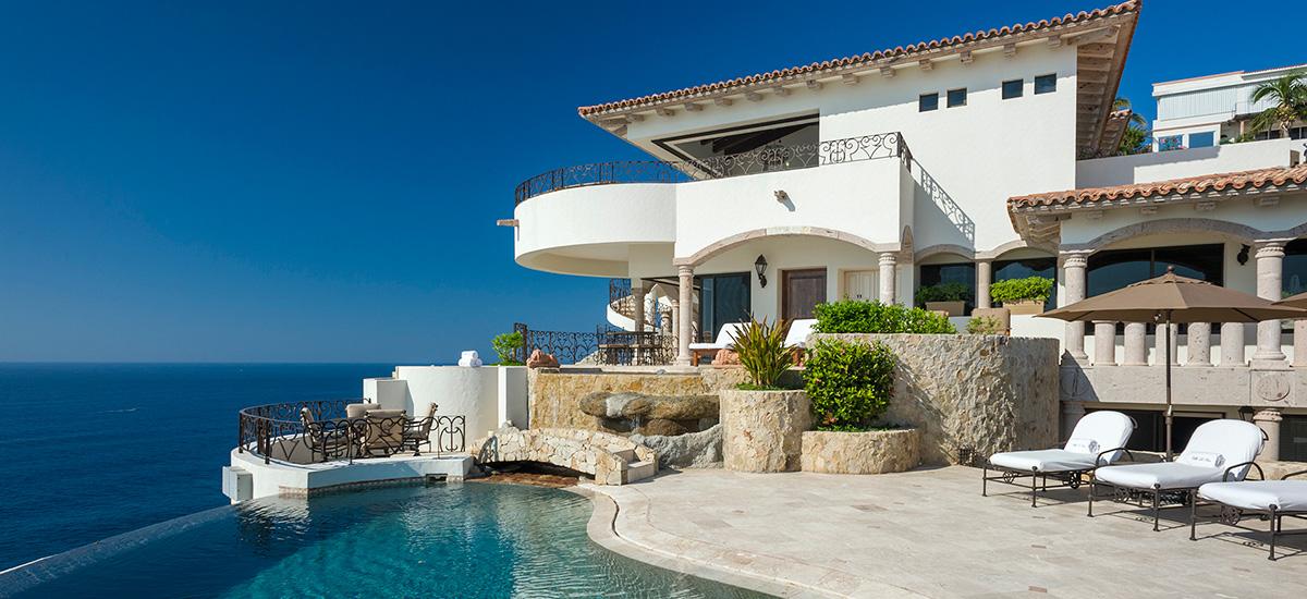 villa la roca pool villa