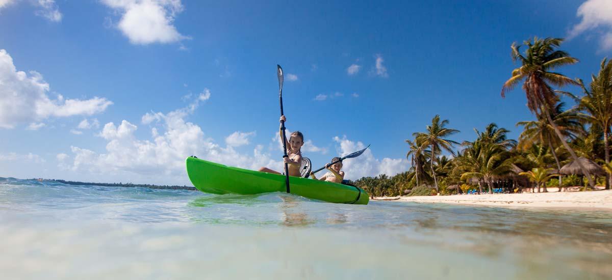 villa la semilla kayak