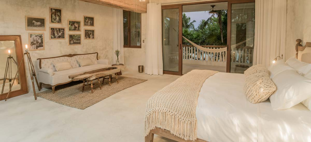 villa la semilla single bedroom