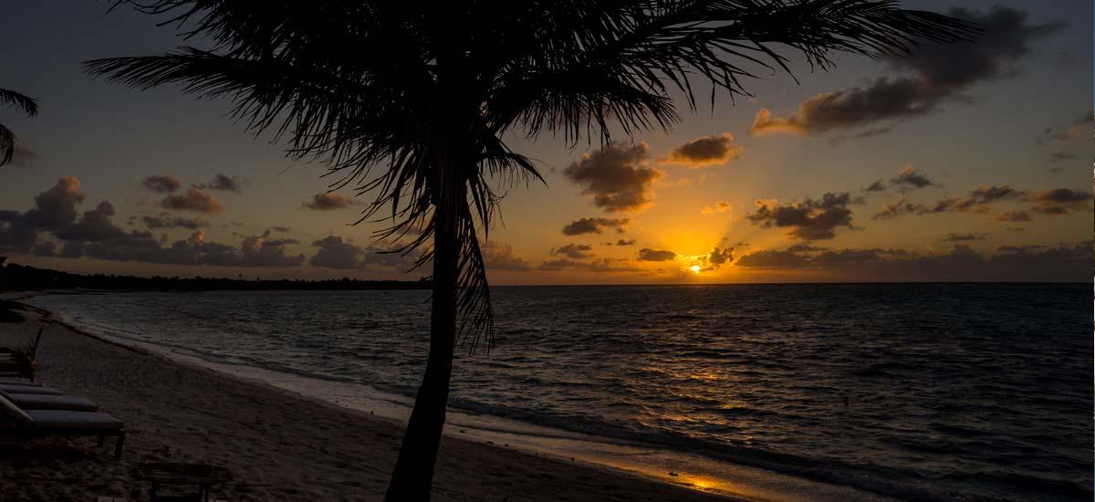 villa la semilla sunset
