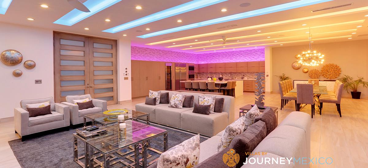 villa lands end living room 2