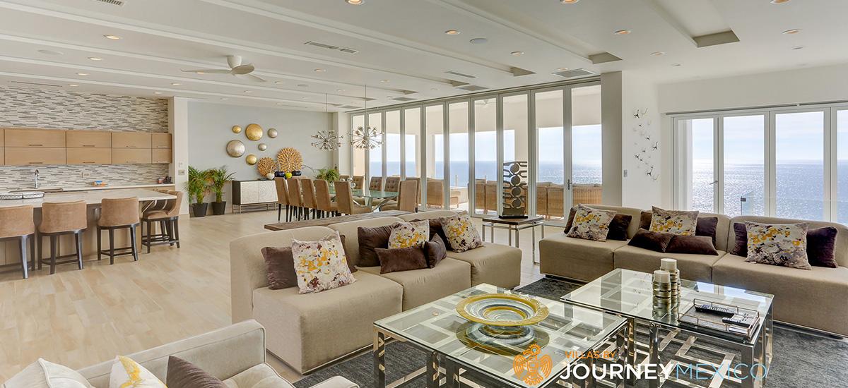 villa lands end living room