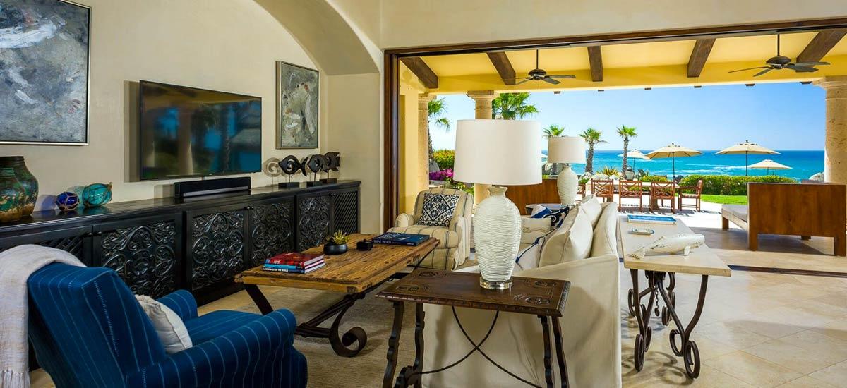 Villa Las Arenas 104 living room