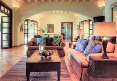 Villa Las Puertas Living Room