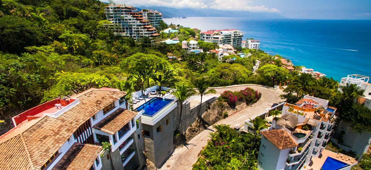 villa lucia balcony aerial view