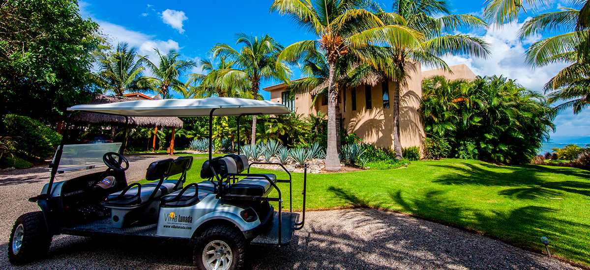 villa lunada golf car