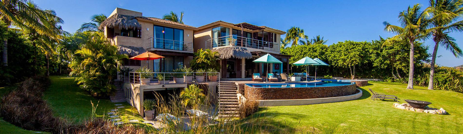 villa lunada - punta mita | journey mexico luxury villas