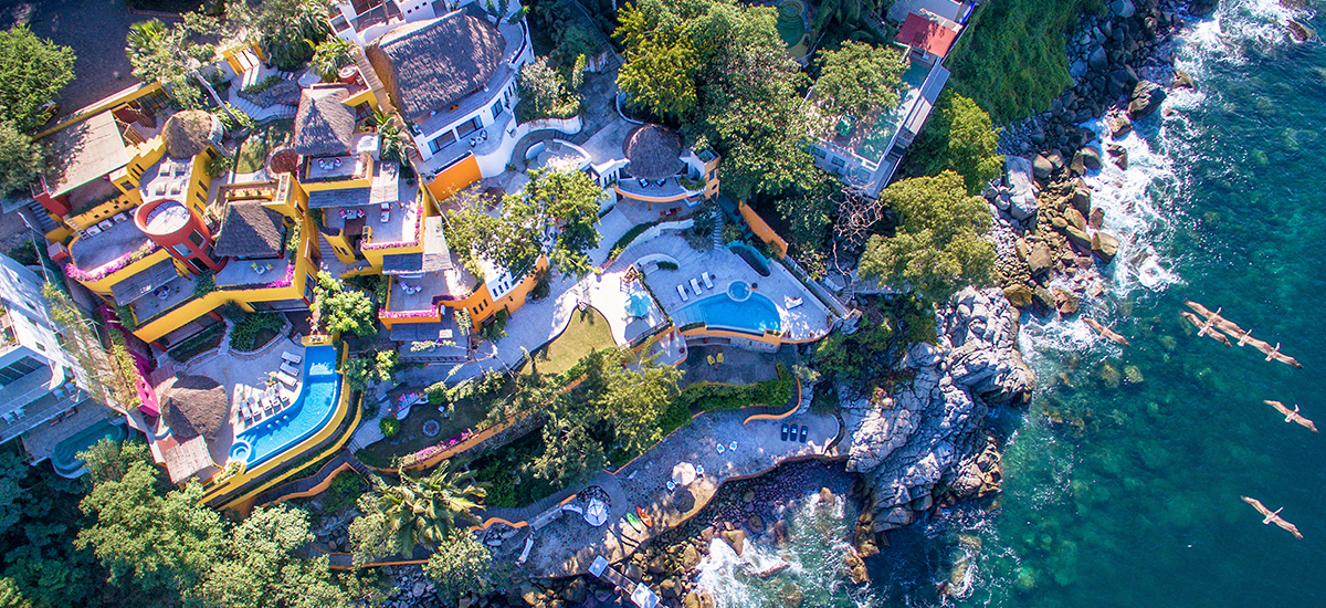 villa mandarinas top view 2