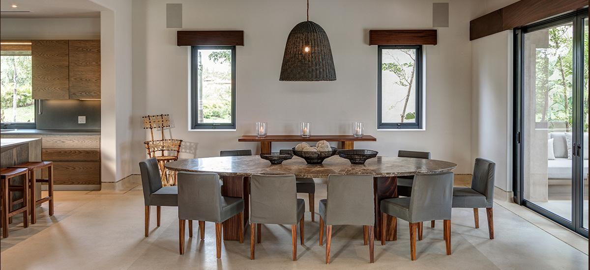 villa marlago dining room
