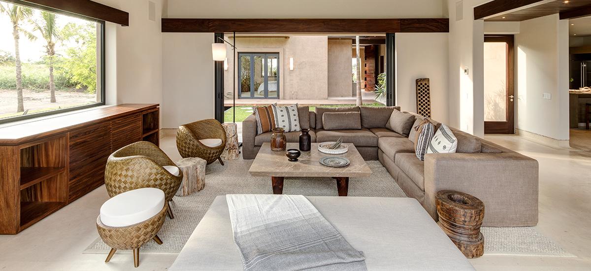 villa marlago living room