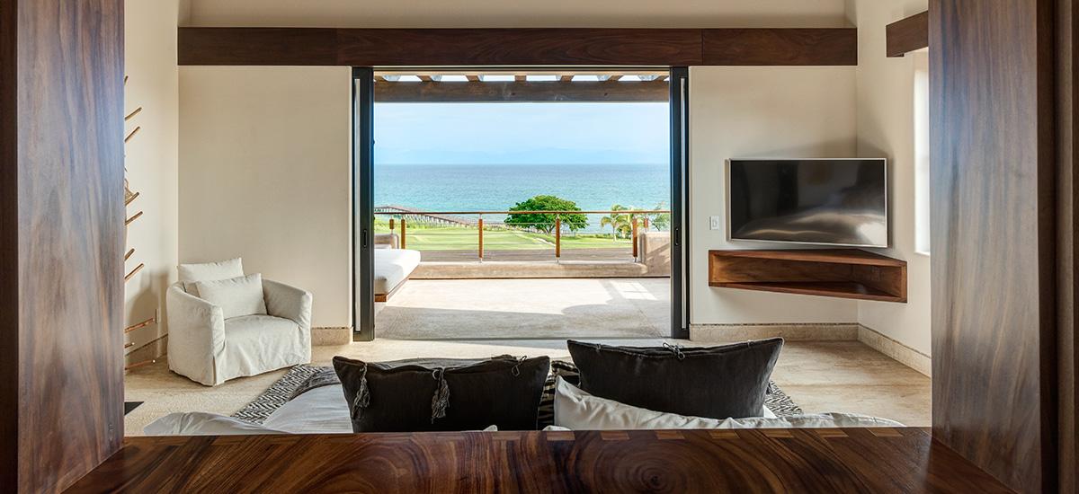 villa marlago sea bedroom view