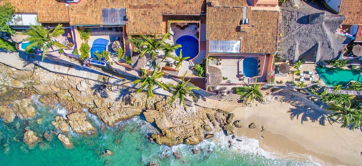 villa mc fuego aerial view