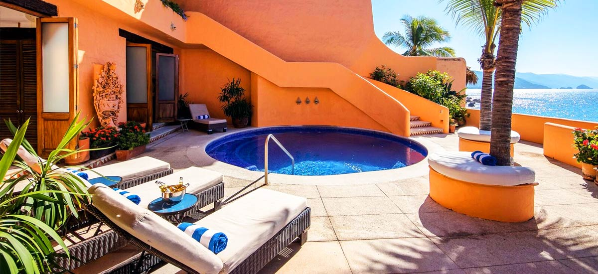 villa mc fuego pool terrace