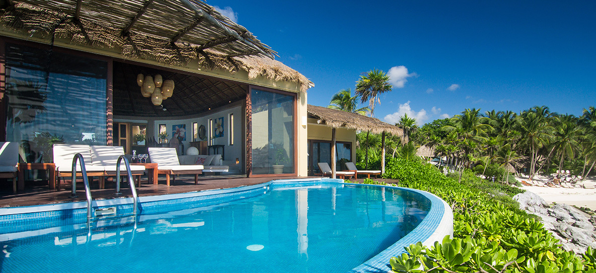 villa miramar pool