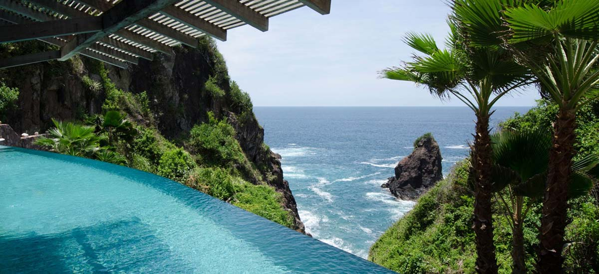 villa nido amor pool view